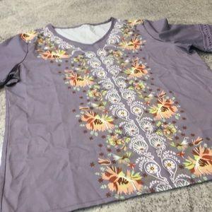 Anthropologie Tops - Anthropologie shirt size lg